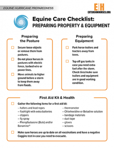 Preparing Property and Equipment for a Hurricane